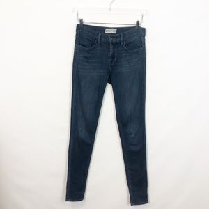 WILDFOX Marianne Mid Rise Skinny Jean Wicked 26